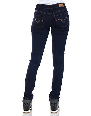LEVIS WOMENS Blue Clothing / Jeans 5