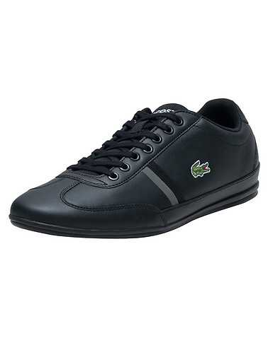 LACOSTE MENS Black Footwear / Casual