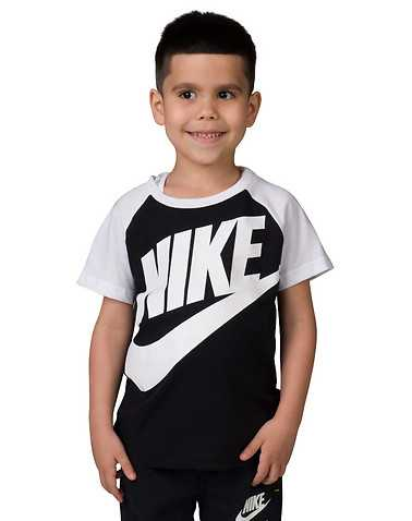 NIKE BOYS Black Clothing / Short Sleeve T-Shirts XL / 7