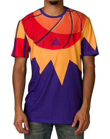 BLACK PYRAMID MENS Purple Clothing / Tops