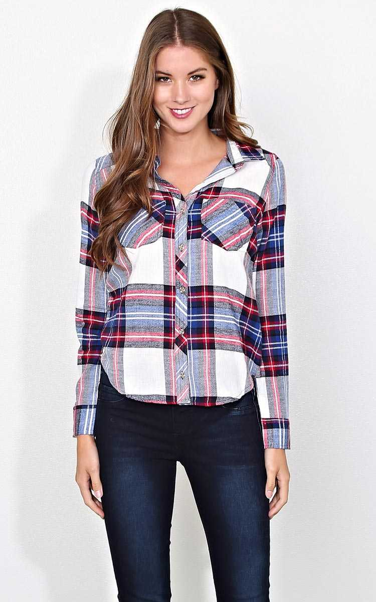 S'mores Night Flannel Plaid - XLGE - Combo in Size X-Large by Styles For Less