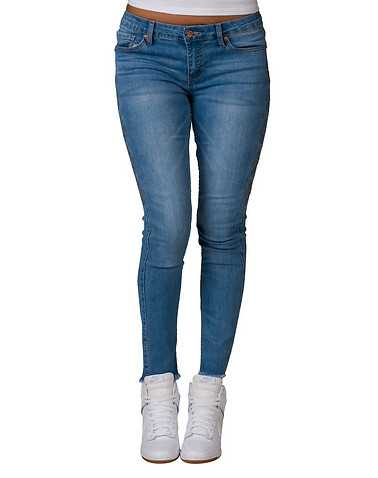 LA BELLE ROC WOMENS Blue Clothing / Jeans