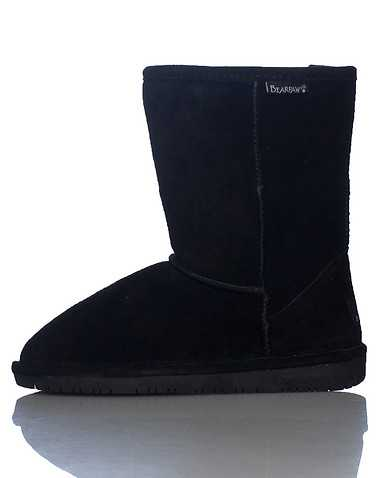 BEARPAW WOMENS Black Footwear / Boots