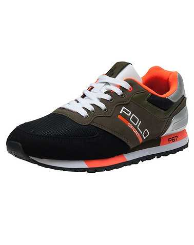 POLO FOOTWEAR MENS Dark Green Footwear / Casual