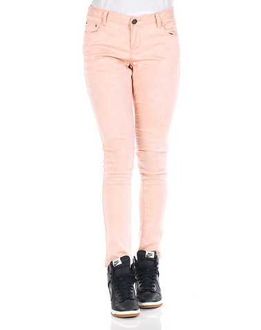 ESSENTIALS WOMENS Pink Clothing / Jeans
