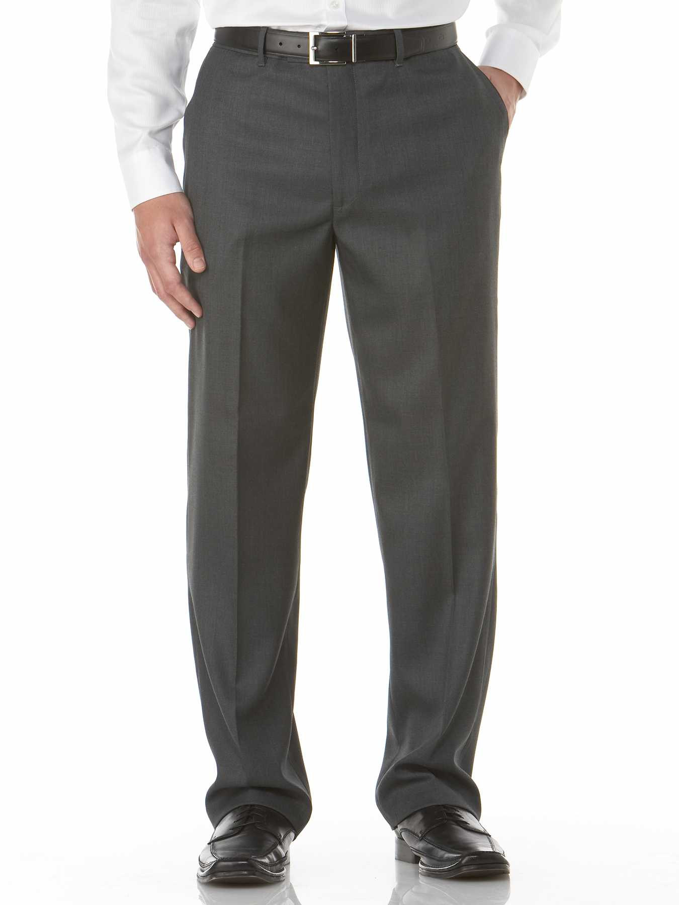 Perry Ellis Sharkskin Classic Fit Portfolio Pant