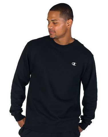 CHAMPION MENS Black Clothing / Sweatshirts L
