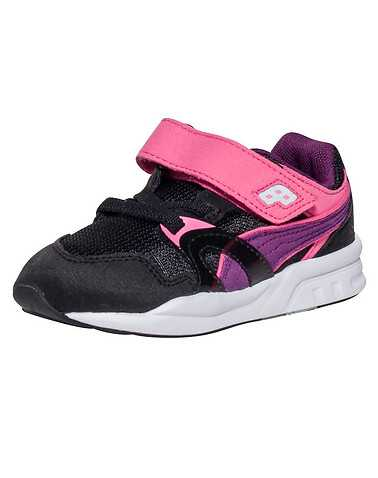PUMA GIRLS Black Footwear / Sneakers