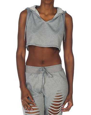 ESSENTIALS WOMENS Grey Clothing / Tops 3X