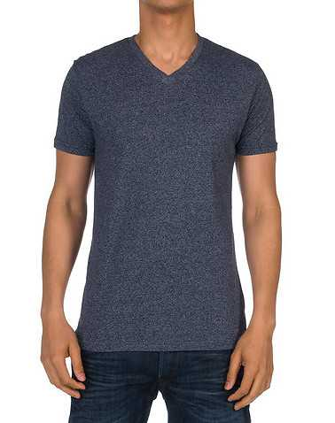 ARTISTRY IN MOTION MENS Dark Blue Clothing / Tees and Polos S