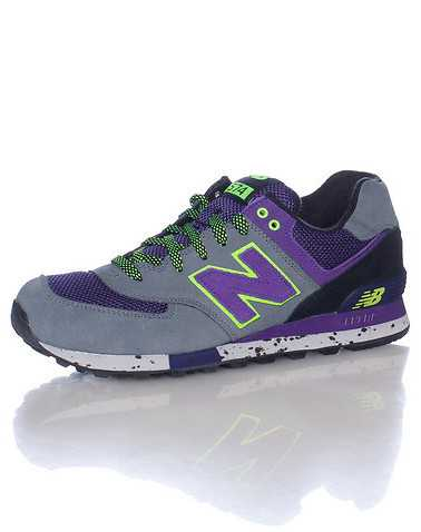 NEW BALANCE MENS Grey Footwear / Sneakers 9.5