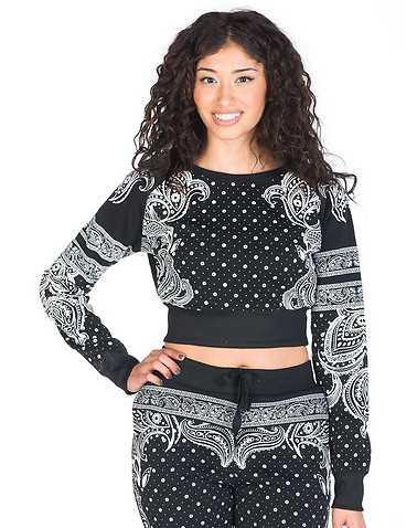 ESSENTIALS WOMENS Black Clothing / Sweatshirts L