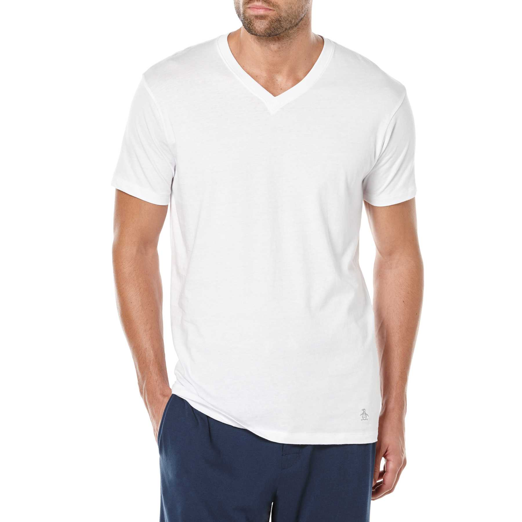 Original Penguin 3 PACK V-NECK T-SHIRT