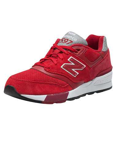 NEW BALANCE MENS Red Footwear / Sneakers