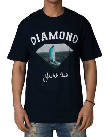 DIAMOND SUPPLY COMPANYENS Navy Clothing / Tops