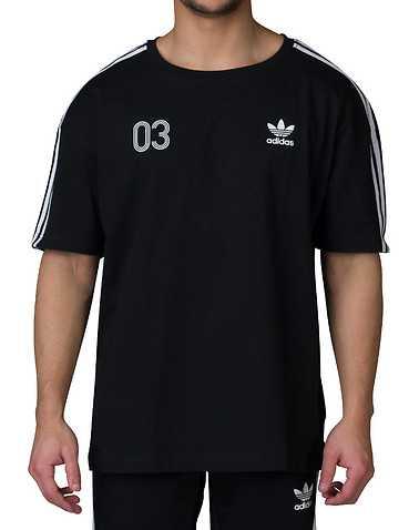 adidas MENS Black Clothing / Tops