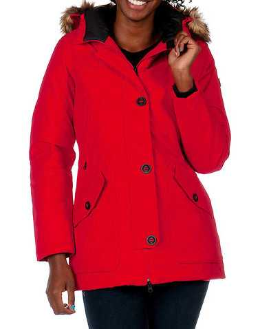 THE NORTH FACE WOMENS Red Clothing / Heavy Jackets L