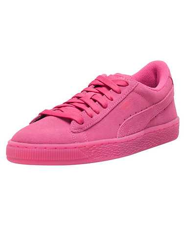 PUMA GIRLS Medium Pink Footwear / Sneakers