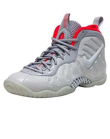 NIKE BOYS Silver Footwear / Sneakers
