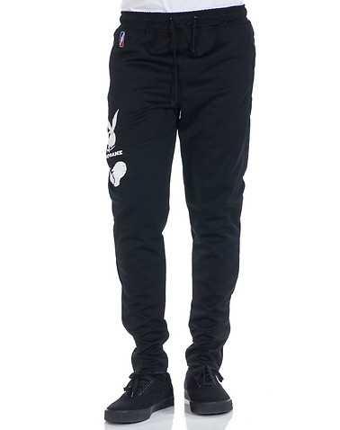 POST GAME MENS Black Clothing / Sweatpants M