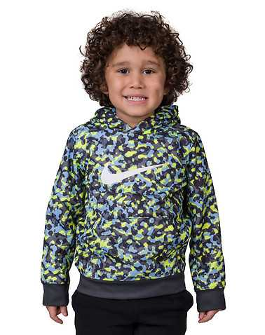 NIKE BOYS Yellow Clothing / Pullover Hoodies L / 6