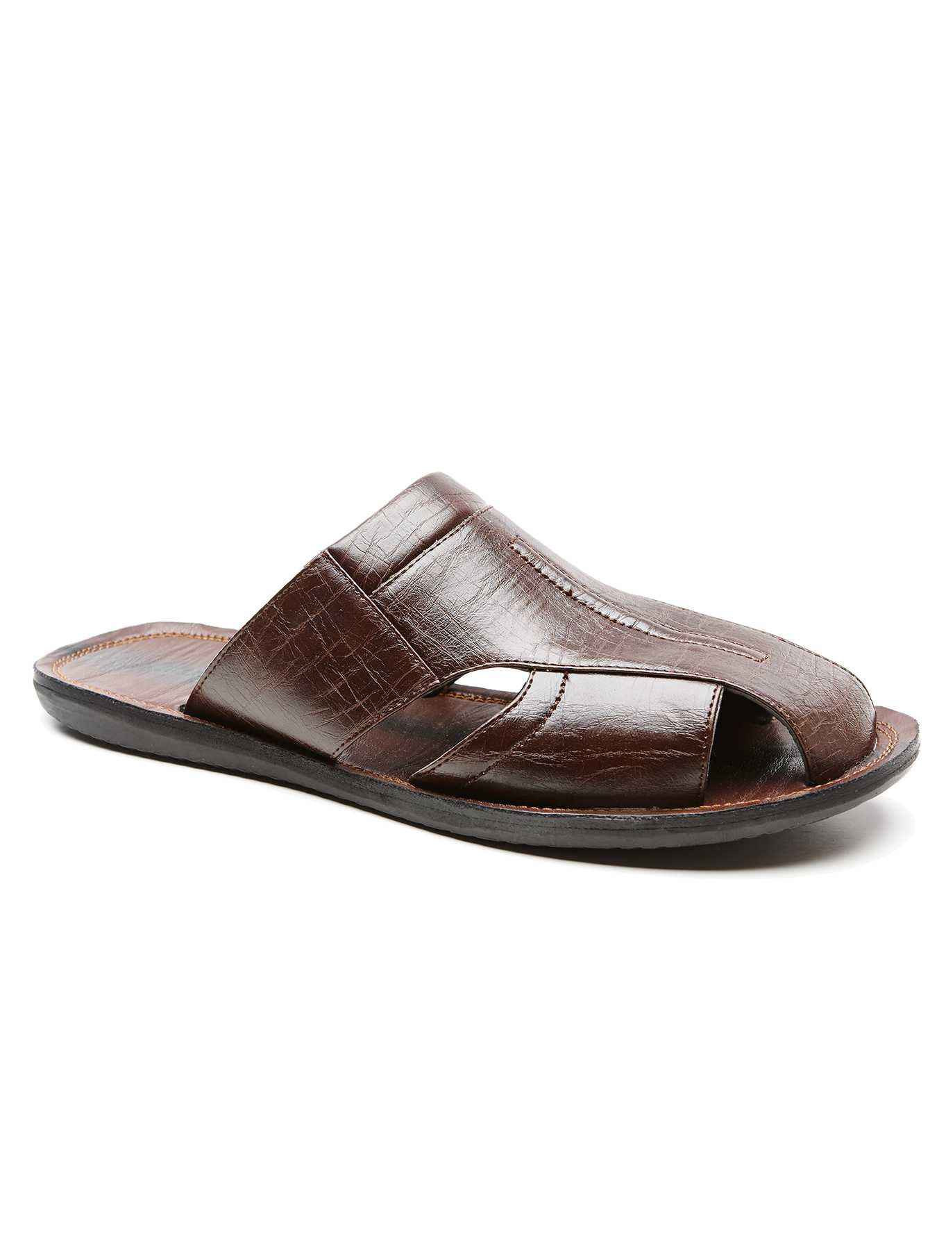 Cubavera Closed Toe Slide Sandal
