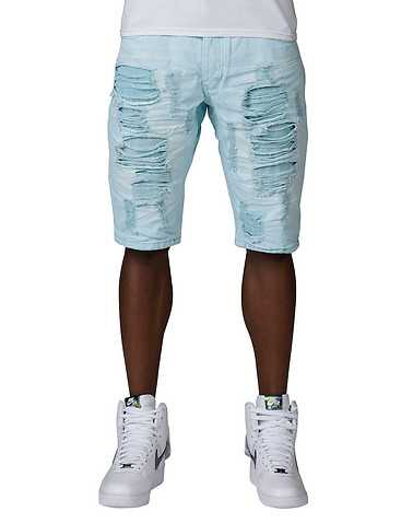 HERITAGE MENS Medium Blue Clothing / Denim Shorts