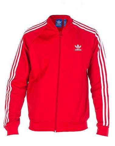adidas MENS Red Clothing / Hoodies