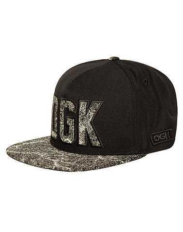 DGK MENS Black Accessories / Caps Snapback One Size