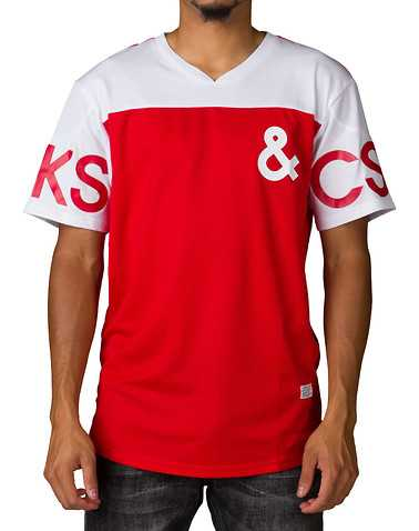 CROOKS AND CASTLES MENS Red Clothing / Tops