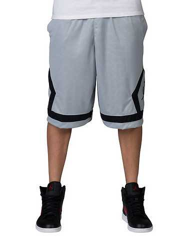 JORDANENS Grey Clothing / Athletic Shorts