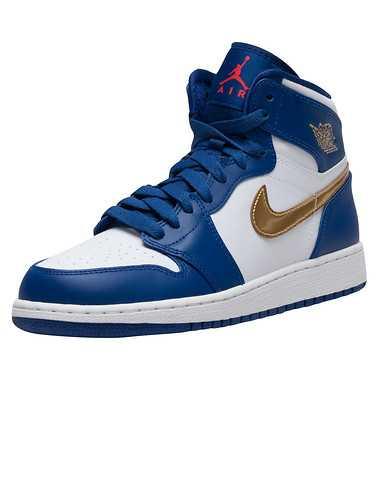 JORDAN GIRLS Blue Footwear / Sneakers