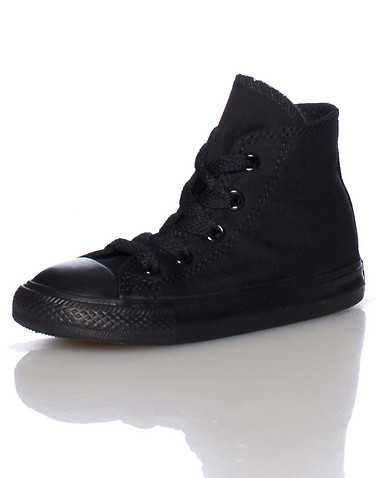 CONVERSE BOYS Black Footwear / Casual 8