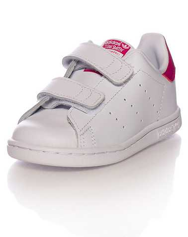 adidas GIRLS White Footwear / Sneakers 4