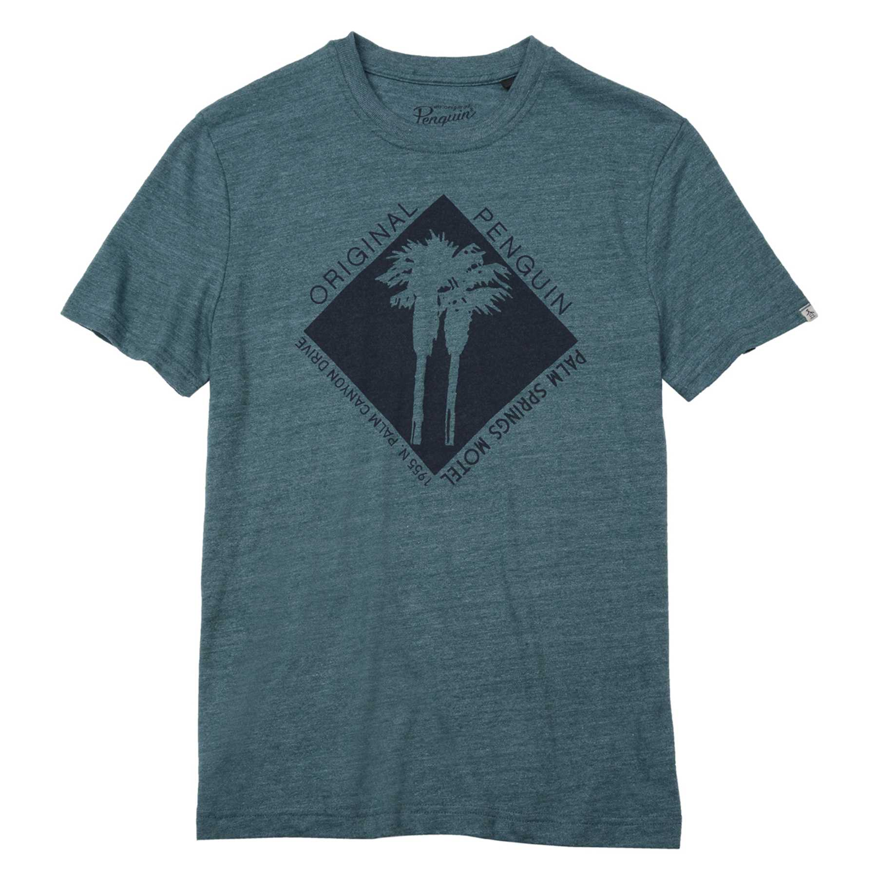 Original Penguin CUT OUT PALM TREE TEE