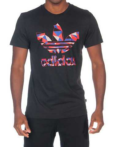 adidas MENS Black Clothing / Tops L