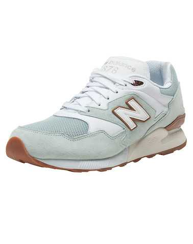 NEW BALANCE MENS Green Footwear / Sneakers