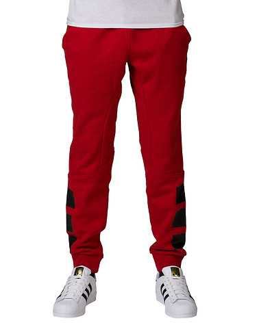 adidas MENS Red Clothing / Sweatpants