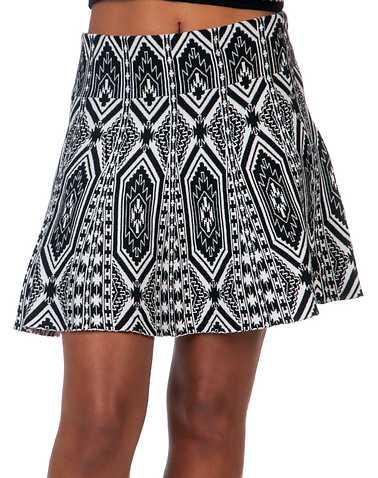 ESSENTIALS WOMENS Black Clothing / Skirts