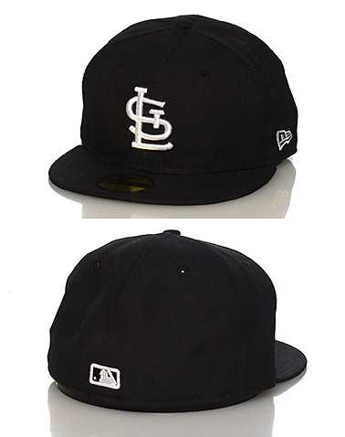 NEW ERA MENS Black Accessories / Caps Fitted