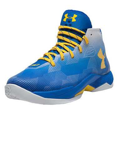 UNDER ARMOUR GIRLS Blue Footwear / Sneakers