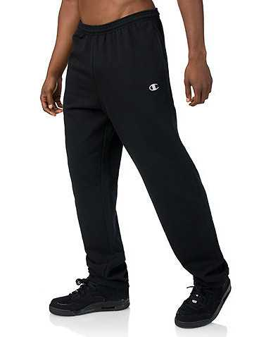CHAMPION MENS Black Clothing / Sweatpants