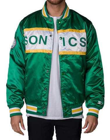 STARTER MENS Green Clothing / Outerwear