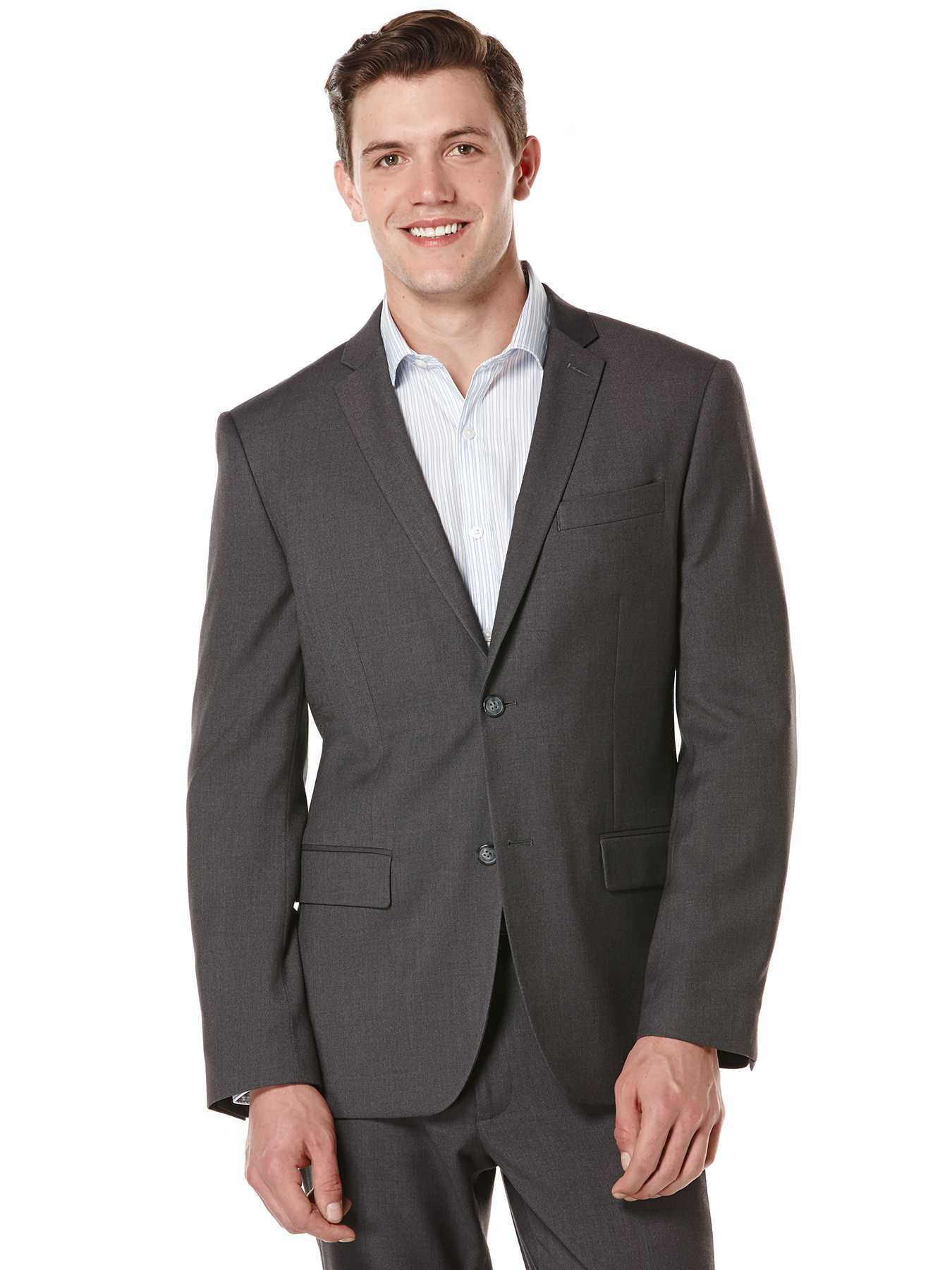 Perry Ellis Slim Fit Solid Suit Jacket