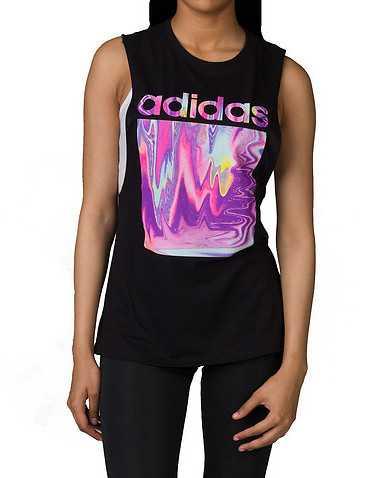 adidas WOMENS Black Clothing / Tank Tops
