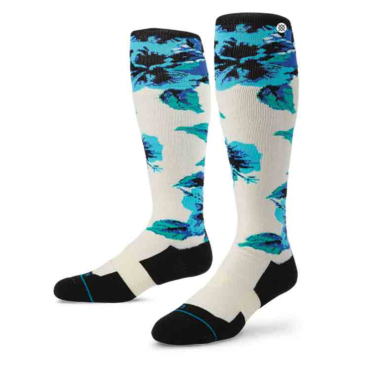 Stance Plow WHT S/M FUSION SNOW Socks
