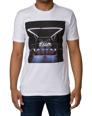 DIEM MENS White Clothing / Tops
