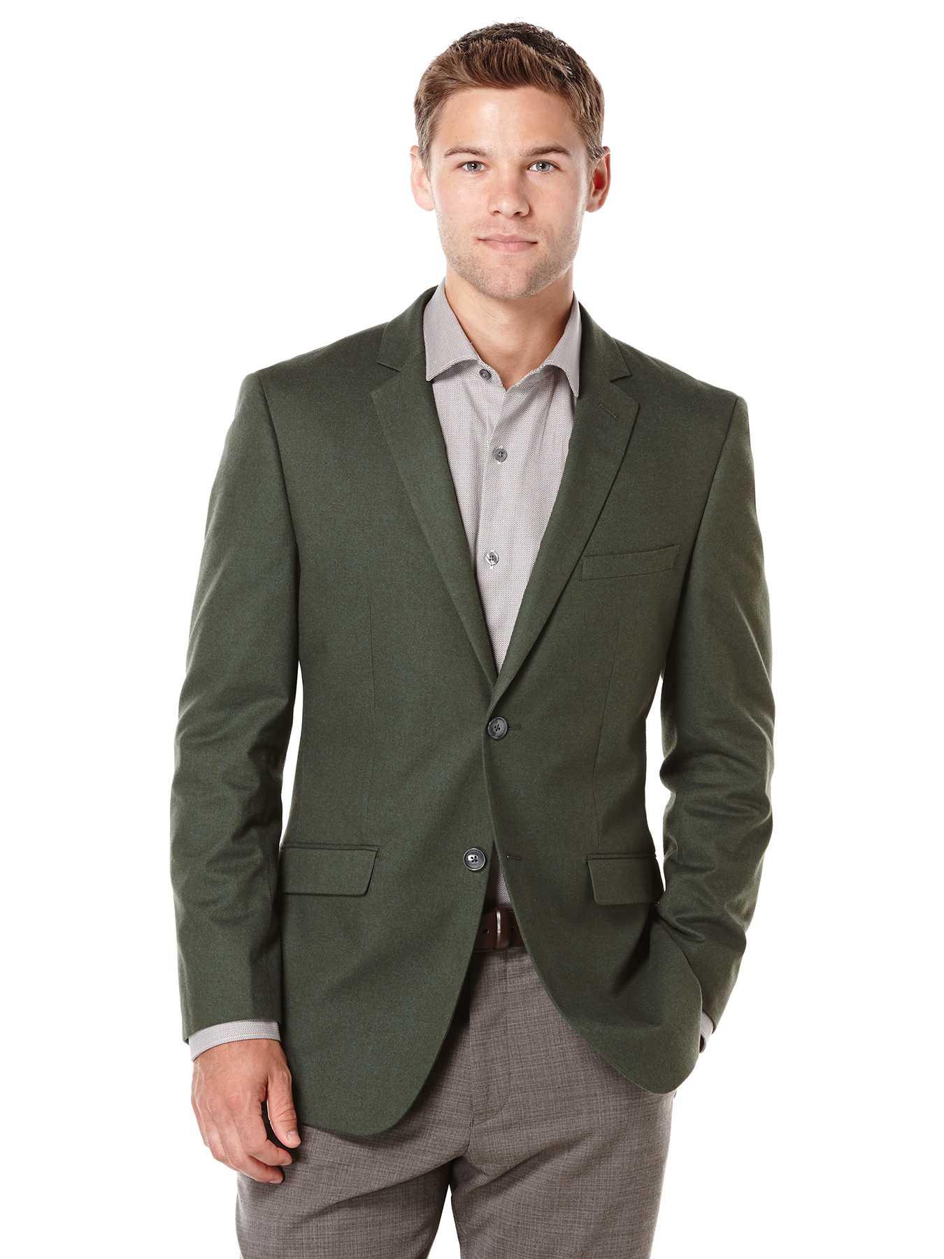 Perry Ellis Slim Fit Green Sportcoat Jacket