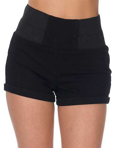 BOOM BOOM JEANS WOMENS Black Clothing / Denim Shorts S