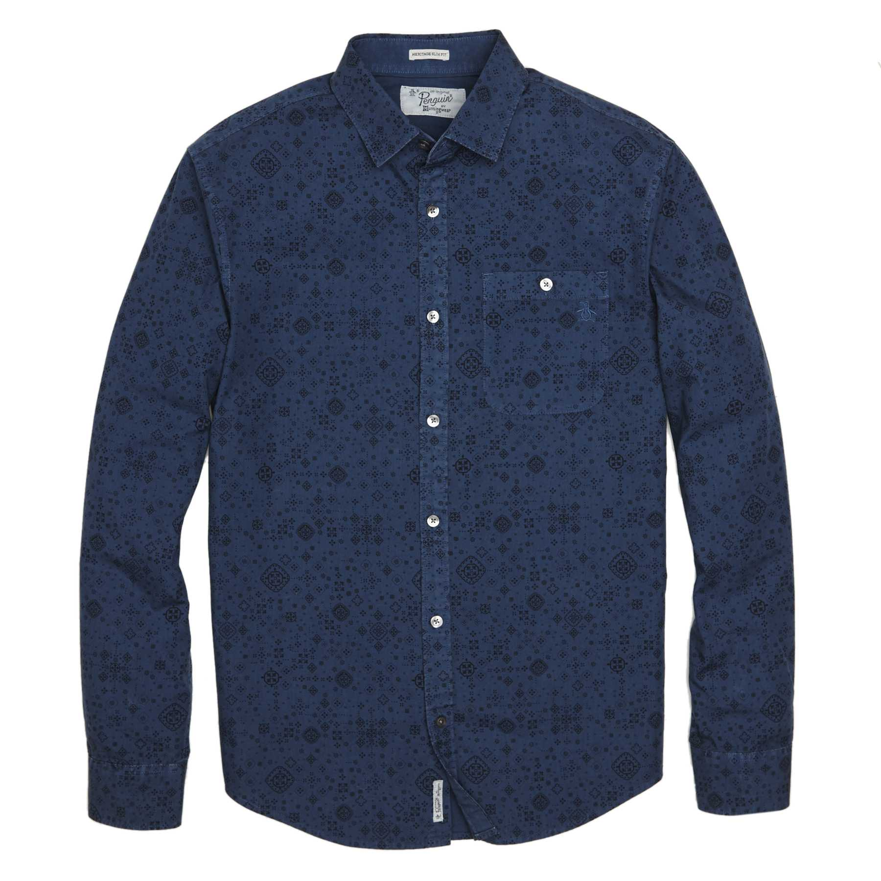 Original Penguin BANDANNA PRINTED SHIRT